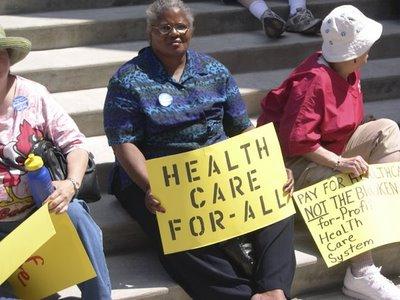 health protest