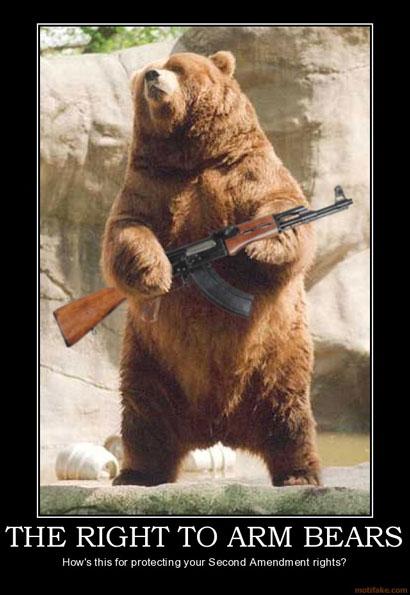 arm bears?w=425 the right to bear arms meme research discussion know your meme,The Right To Bear Arms Meme
