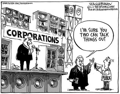 Corporate control of politics