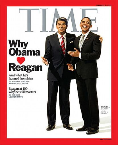 Barack loves Ronnie